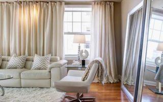 Как выбрать шторы в гостиную