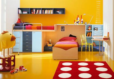 Детская комната – цвет стен