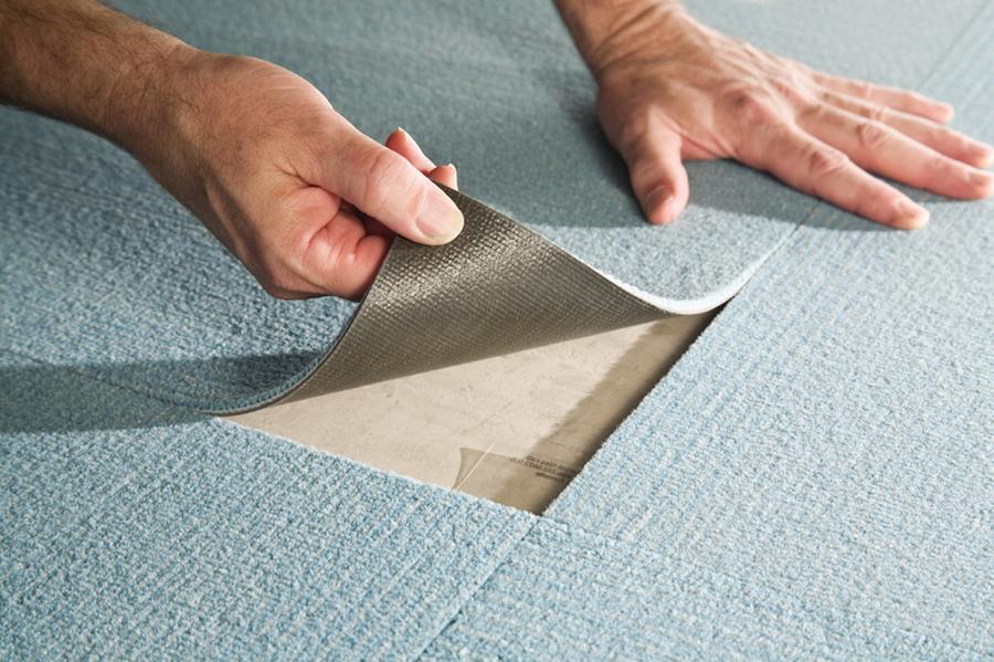 Как устранить дефекты на ковролине
