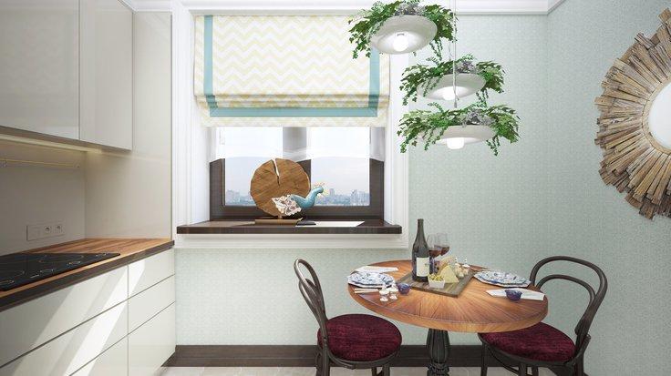 4 основных правила, как зрительно увеличить маленькое пространство кухни