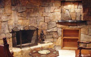 Применение натурального камня в интерьере