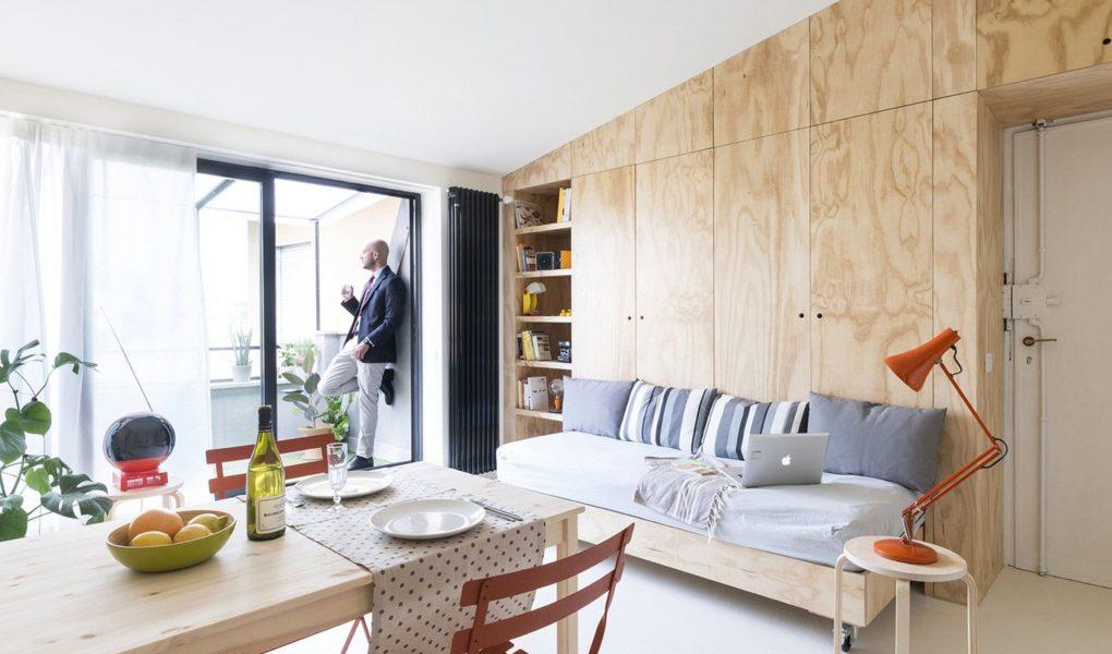 Как из маленькой квартиры сделать просторные апартаменты