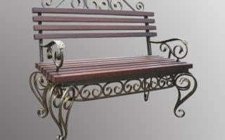 Кованые скамейки Современный дизайн и функциональность