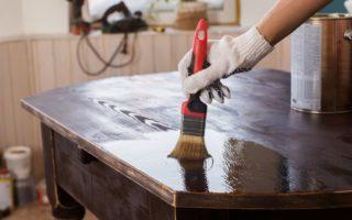 Как красить и лакировать мебель своими силами