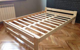 Плюсы и минусы деревянного каркаса кровати