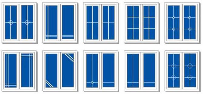 Декоративные раскладки для пластиковых окон
