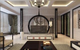 Дизайн интерьера квартиры в современном восточном стиле