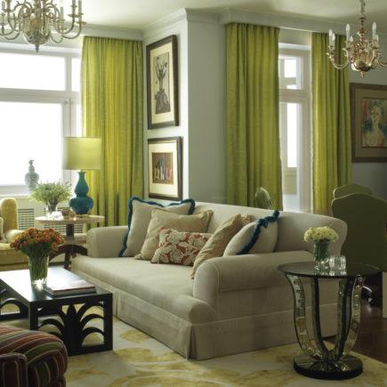 Утонченность и элегантность в интерьере с помощью оливкового цвета