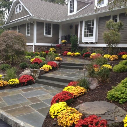 Цветовая гамма для дизайна сада и загородного дома