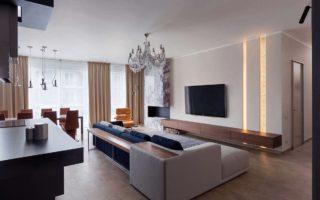 Современная гостиная: стили и тенденции оформления