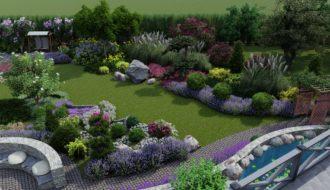 Структура ландшафтного дизайна